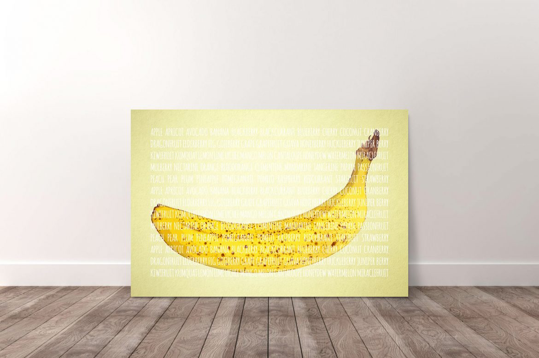 Banaan in kleur