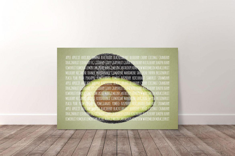 Avocado in kleur