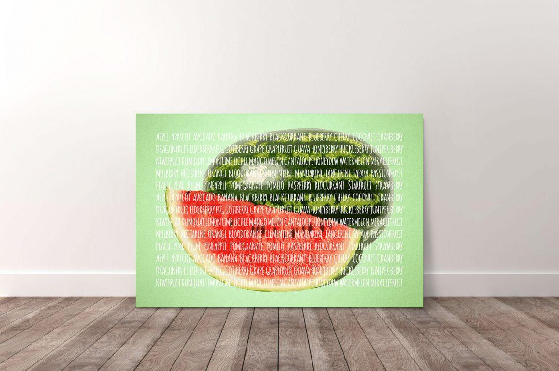 Meloen in kleur