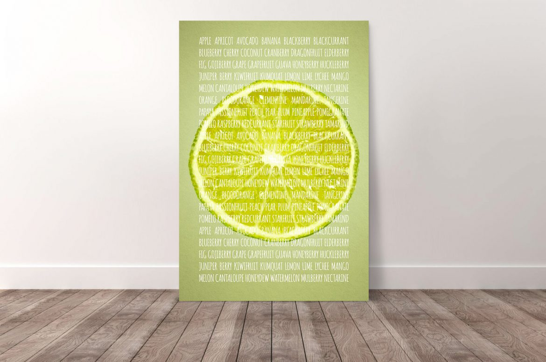 Limoen in kleur