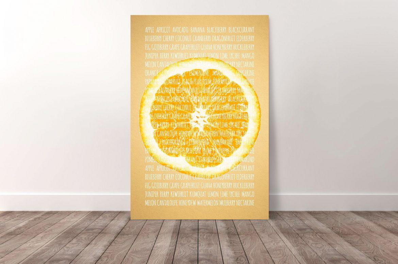 Sinaasappel in kleur
