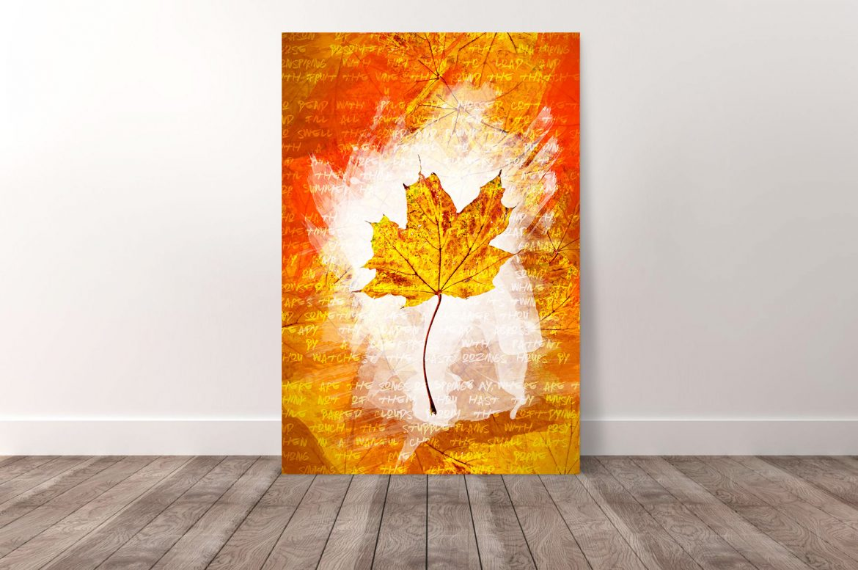 Herfstbladeren - Geel