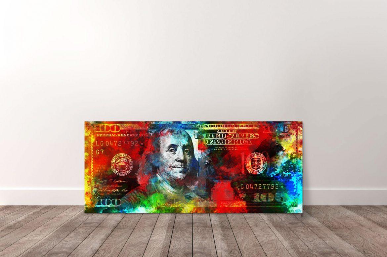 Benjamin Franklin - 100 Dollar in kleur